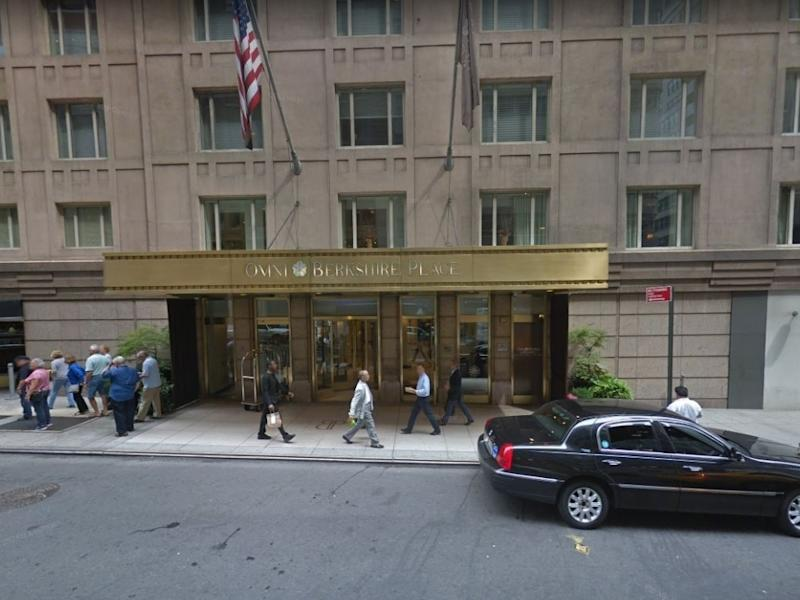 Midtown's Omni Berkshire Place hotel will close permanently, plans for the building are currently unclear.