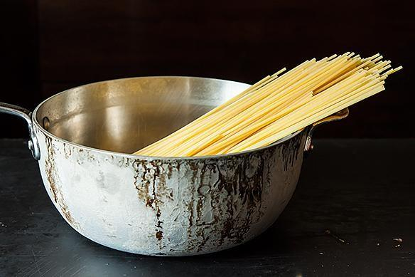 How to Salt Your Pasta Water on Food52