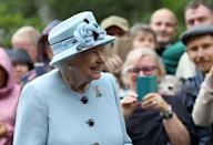 <p>Queen Elizabeth arrives in Scotland for her summer holiday at Balmoral.</p>