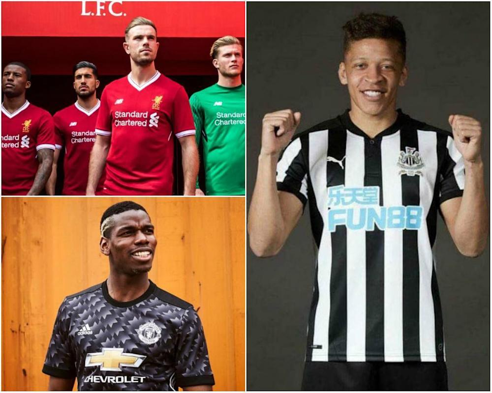 Liverpool FC, Newcastle United, Manchester United