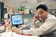 <p>Oscar played Oscar Martinez, an accountant at Dunder Mifflin. He was one of the most well-known openly gay characters in broadcast TV at the time.</p>