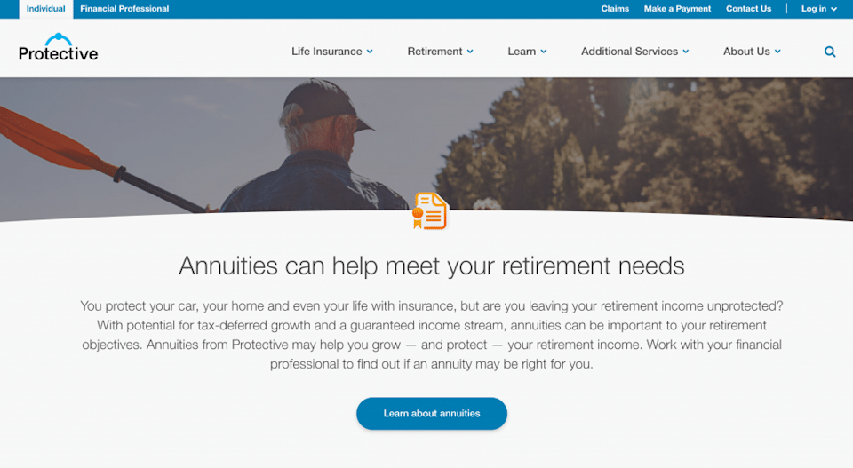 Protective Life Annuity Product
