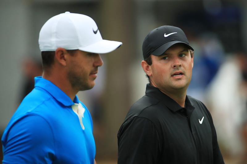 Brooks Koepka didn't hold back, comparing Patrick Reed's sand saga to the Houston Astros. (Photo by Andrew Redington/Getty Images)