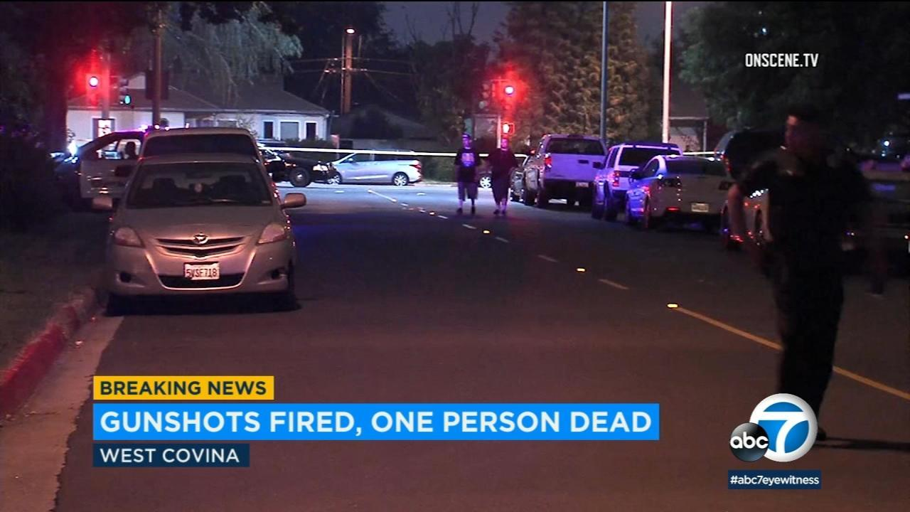 West Covina shooting at house party leaves 1 dead, 3 others injured