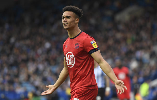 Antonee Robinson is reportedly trading the English Championship for Serie A. (Photo by George Wood/Getty Images)