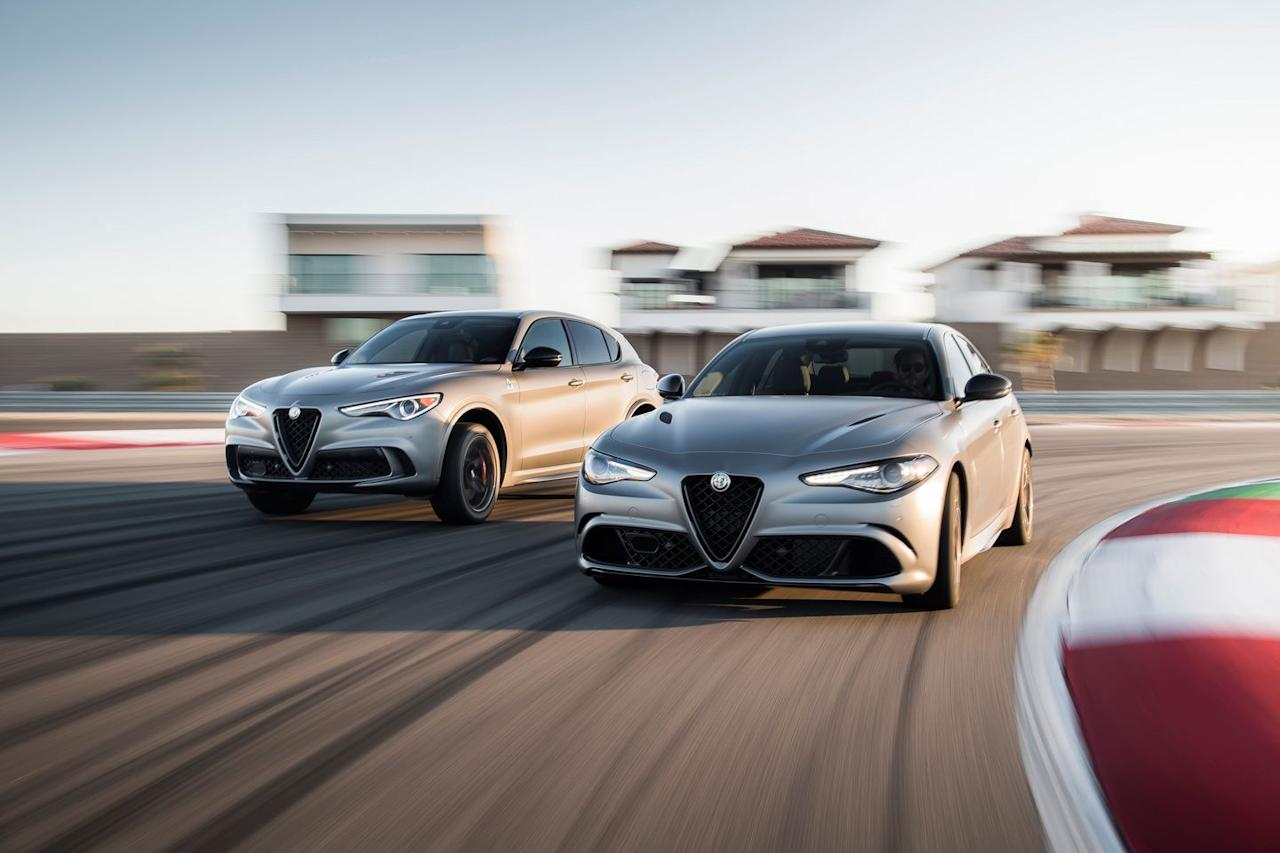 "<p>If the cars look a bit familiar, it's because the NRINGs <a href=""https://www.caranddriver.com/news/a19062043/nring-the-dragon-nurburgring-edition-alfa-romeo-quadrifoglios-revealed/"" target=""_blank"">already were revealed for European audiences</a> last year, and what we're getting is basically the same.</p>"