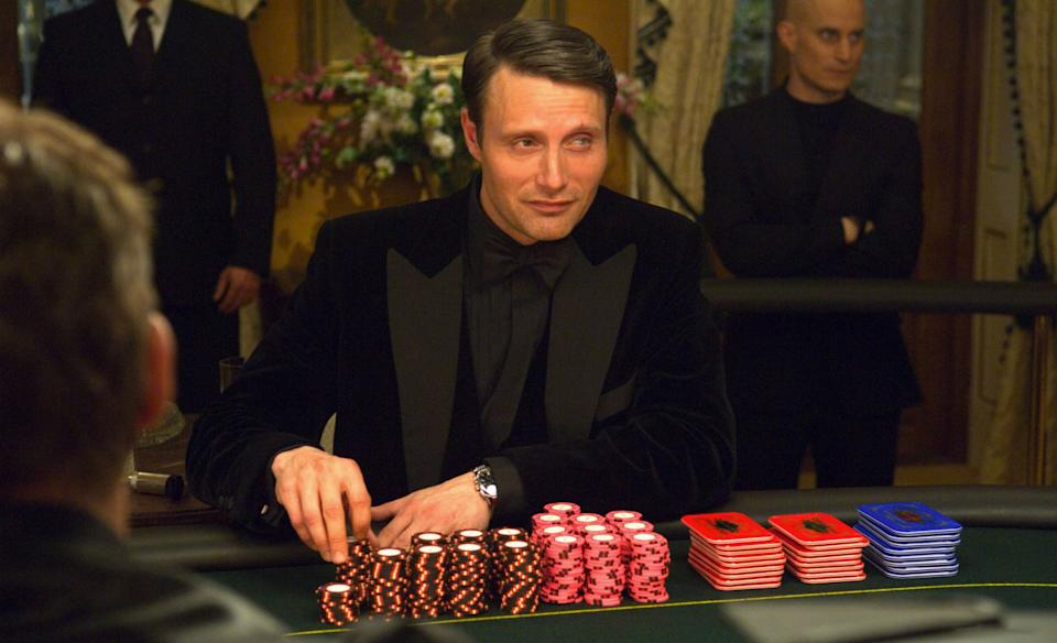 Mads Mikkelsen as Le Chiffre in Casino Royale (Sony Pictures)