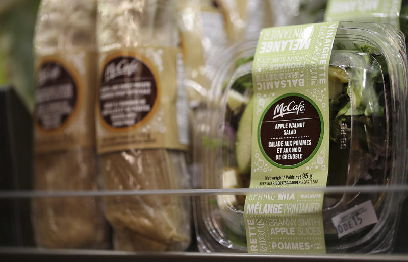 U.S. Official Say 163 in Illness Spree Linked to McDonald's Salads