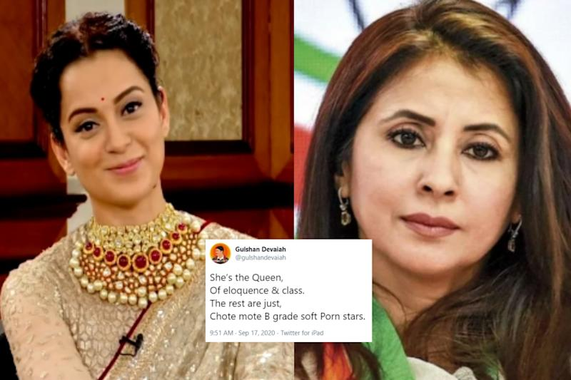 Kangana Ranaut Gets Lesson on Twitter for Calling Urmila Matondkar a 'Soft Porn' Actress
