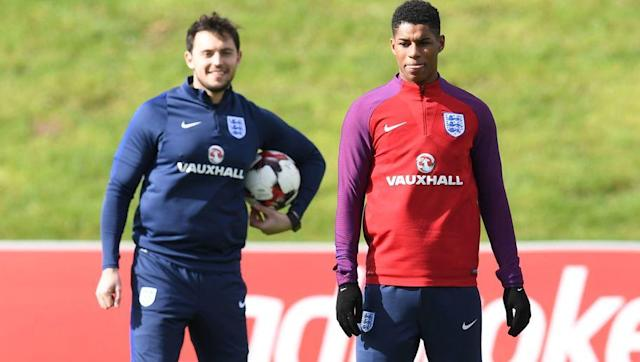 <p>Much was made of England's depleted front line, and that was evident in their inability to score when on top. Nonetheless Jamie Vardy played well as the sole striker, pressing the German back line high up the pitch, and running tirelessly. </p> <br><p>However, it should be Marcus Rashford that starts on Sunday against Lithuania. The youngster looked bright when he came on, and if England are to start looking forward to Russia 2018 and beyond, then Rashford needs to be given more time wearing the Three Lions on his chest.</p>