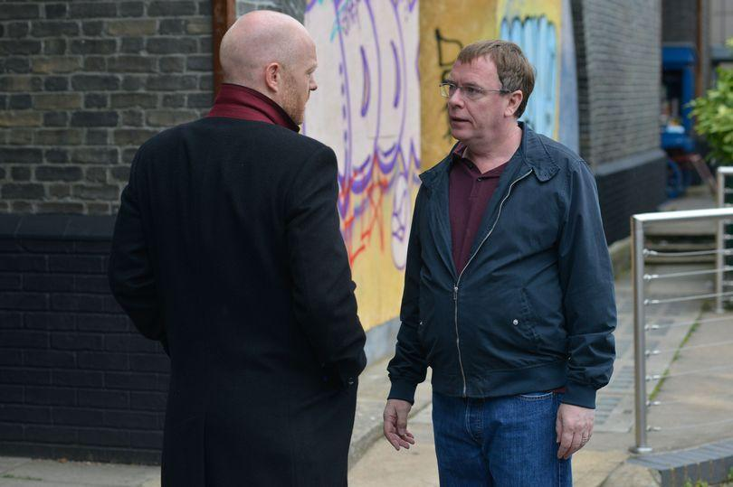 Is Max going to kill off Ian? Copyright: [BBC]