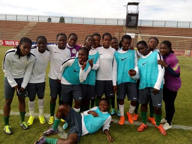 Christopher Danjuma's ladies thrashed the U14 boys in a friendly to step up their preparations for qualifier with South Africa next month