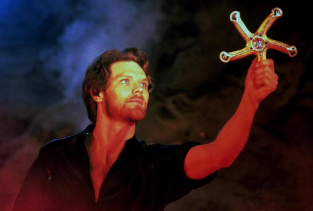 The Glaive from <em>Krull</em> is used in <em>Ready Player One.</em> (Photo: Columbia/courtesy Everett Collection)