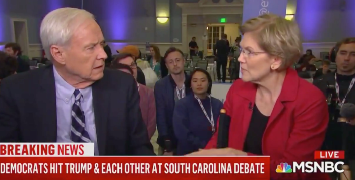 MSNBC Host Chris Matthews Under Fire For Sexist Grilling Of Elizabeth Warren