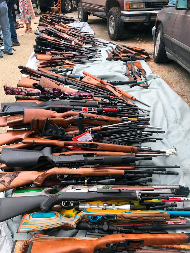 Man Charged After Police Seize Over 1,000 Guns