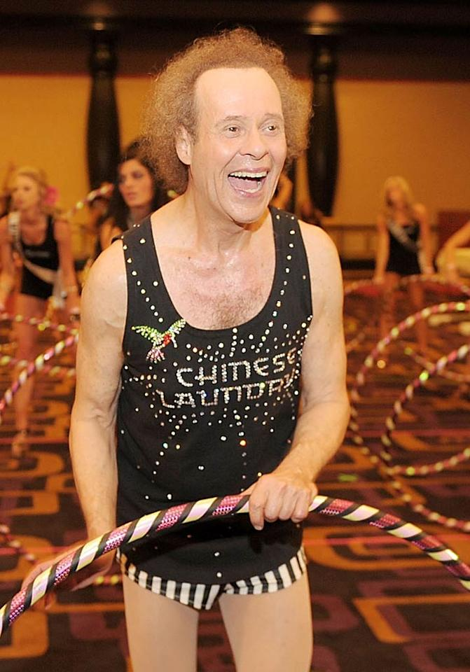 """Richard Simmons turns 63 Denise Truscello/Steve Granitz/<a href=""""http://www.wireimage.com"""" target=""""new"""">WireImage.com</a> - June 10, 2011"""
