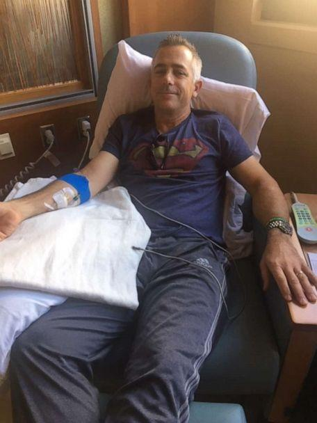 PHOTO: Jeff Sipos began chemo last August. Even though the side effects took a toll, he decided to return to school while taking precautions due to a weakened immune system. (Jeff Sipos)
