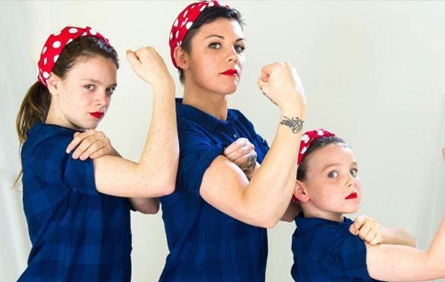 The successful radio host admits she wants her daughters to look up to her when it comes to having a successful career. Photo: Instagram/emrusciano