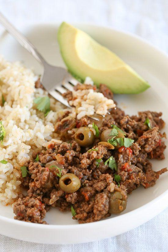 "<strong>Get the <a href=""http://www.skinnytaste.com/instant-pot-picadillo/"" target=""_blank"">Instant Pot Picadillo recipe</a>&nbsp;from Skinny Taste</strong>"