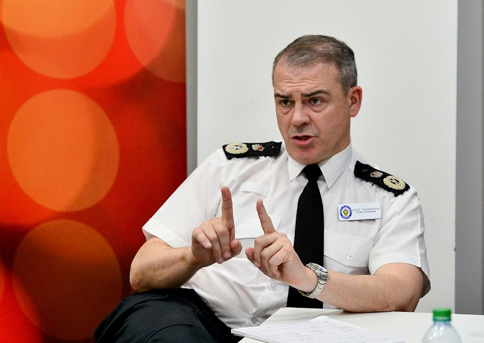 Chief Constable Dave Thompson of West Midlands Police apologised to the family of Suzanne Van Hagen for 'serious shortcomings' surrounding  the investigation of her murder (swns)