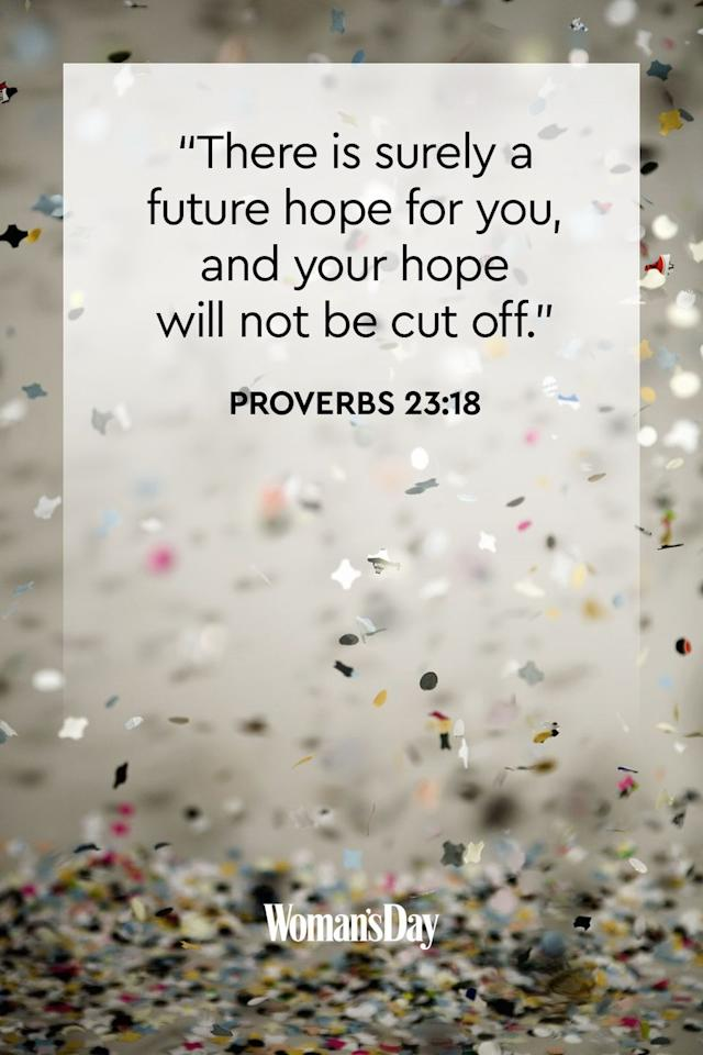 "<p>""There is surely a future hope for you, and your hope will not be cut off.""</p><p><strong>The Good News</strong>: It doesn't matter how we finished off 2019 — 2020 and all future years to come are filled with hope, faith, and love from the Lord. We just need to believe.</p>"