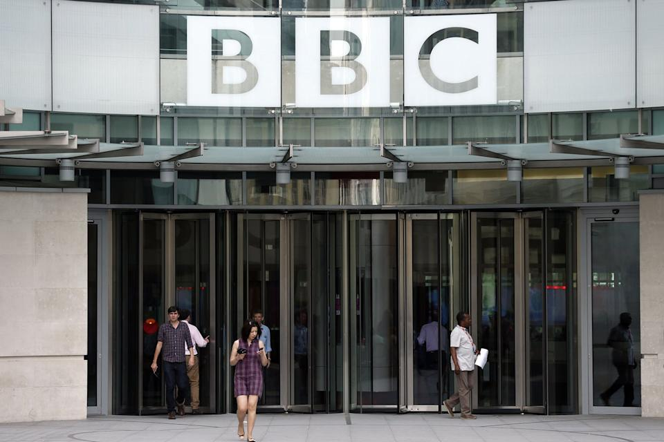 Bosses have been called on to intervene over an 'unhygienic' basement studio at the BBC's headquarters: Jonathan Brady/PA Wire
