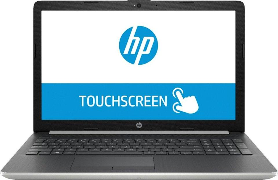 HP 15.6″ Touch-Screen Laptop. (Photo: Best Buy)