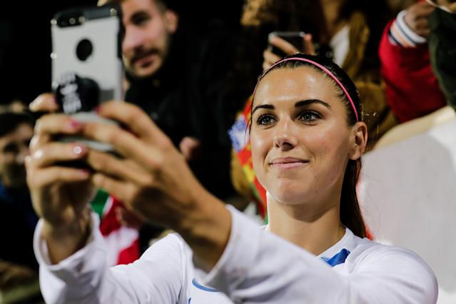 The 2019 FIFA Women's World Cup might be U.S. striker Alex Morgan's ultimate moment. (Getty)