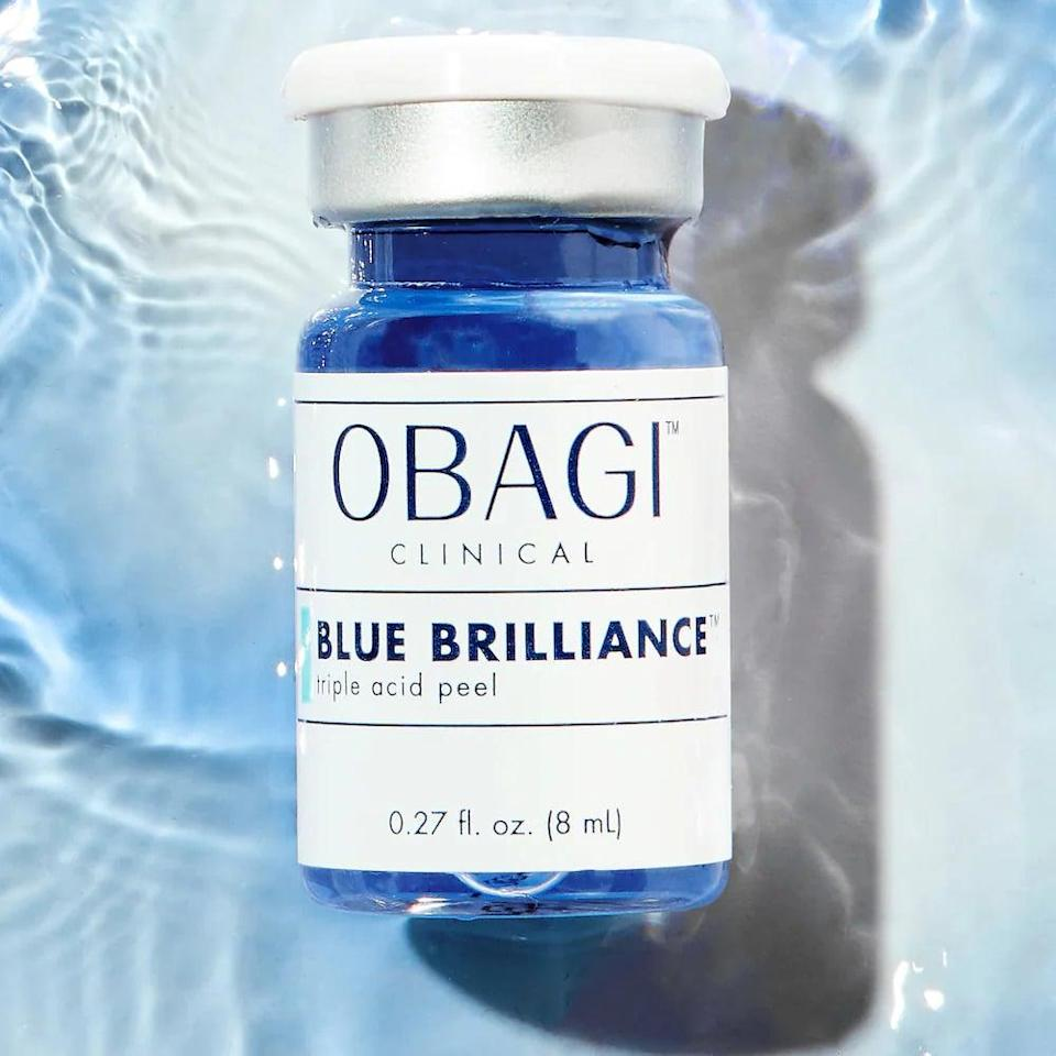 <p>Depending on your skin strength and what it can tolerate, you might experience peeling like I did, or not at all. Compared to other over-the-counter peels, like The Ordinary 30% AHA/BHA, the <span>Obagi Clinical Blue Brilliance Triple Acid Peel</span> ($145) felt much stronger. I recommend this peel to anyone dealing with acne or dark spots who needs that boost in their skin-care routine - however, only for those who don't have sensitive skin. If you used chemical peels previously and built up your skin's tolerance, I recommend trying this out. This is definitely not a starter peel.</p>