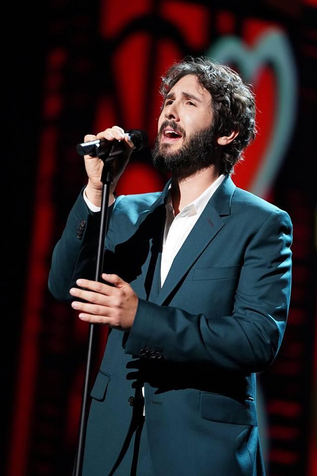 Photo: Josh Groban Facebook page.