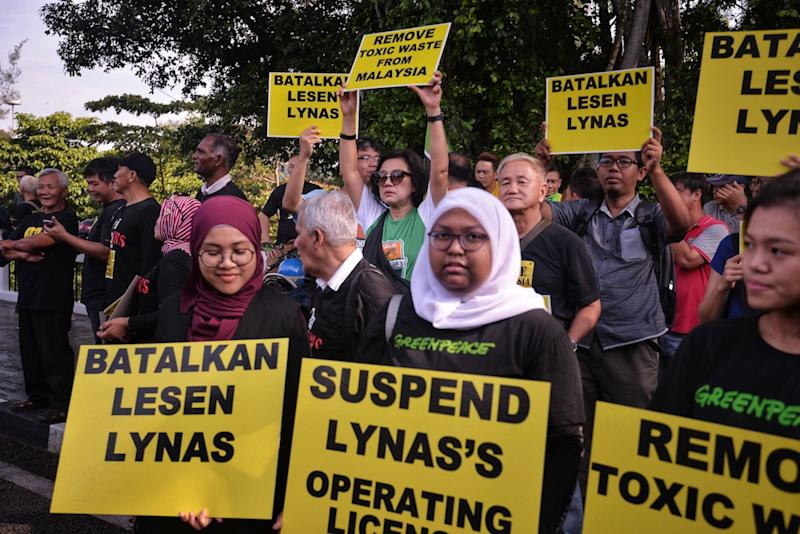 Image result for Lynas issue . The people have spoken.
