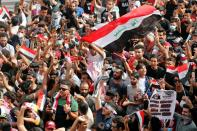 Iraqis take to the streets on protest anniversary