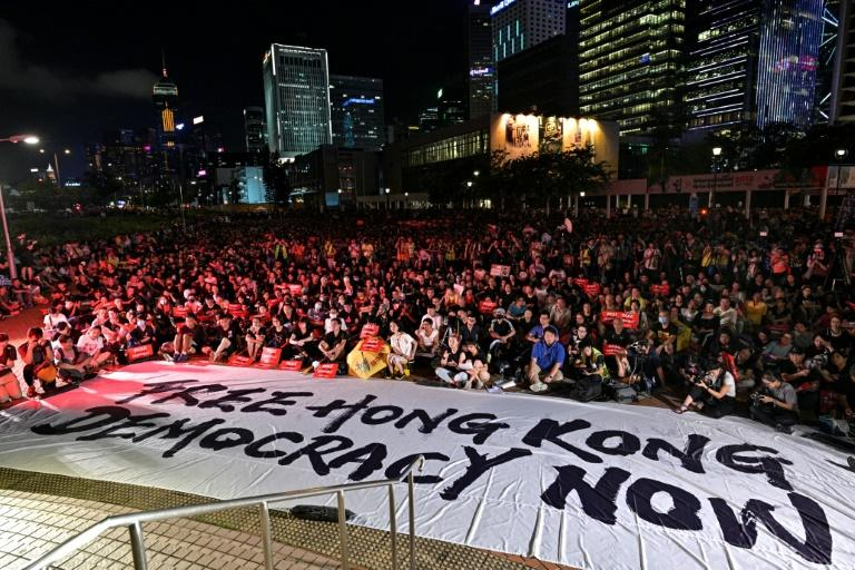 Protesters in Hong Kong are planning a series of demonstrations in the run-up to the G20 meetings June 27-28, 2019 in Japan