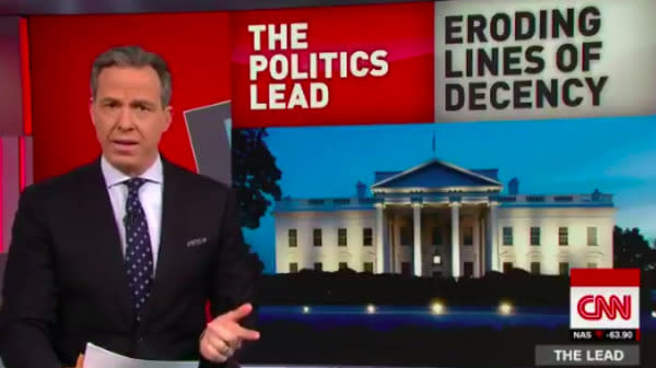 Jake Tapper: Trump Presidency Once Again Eroding Basic Lines Of Human Decency