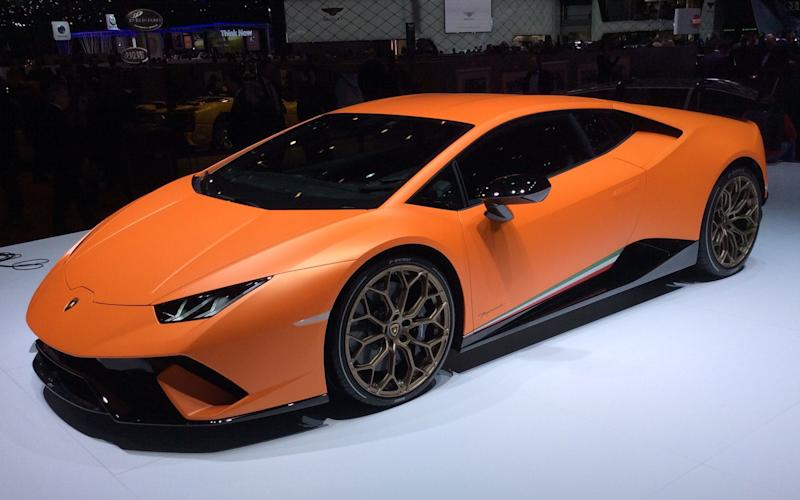 Lamborghini Huracan Performante - debut at Geneva motor show 2017