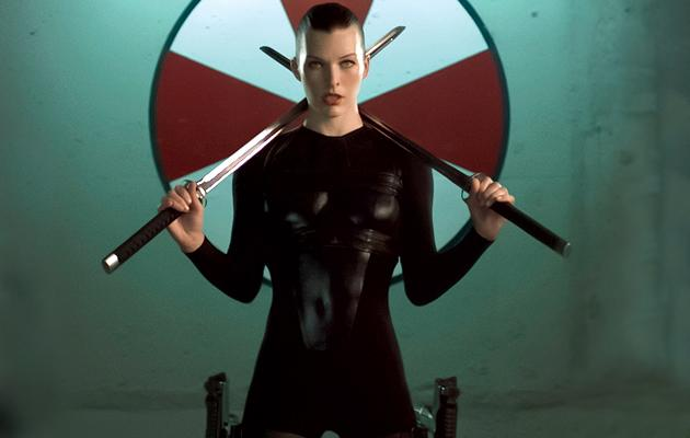 """Milla Jovovich as Alice<br>""""<a href=""""http://movies.yahoo.com/movie/resident-evil-afterlife/"""">Resident Evil: Afterlife</a>"""" (2010)<br>"""