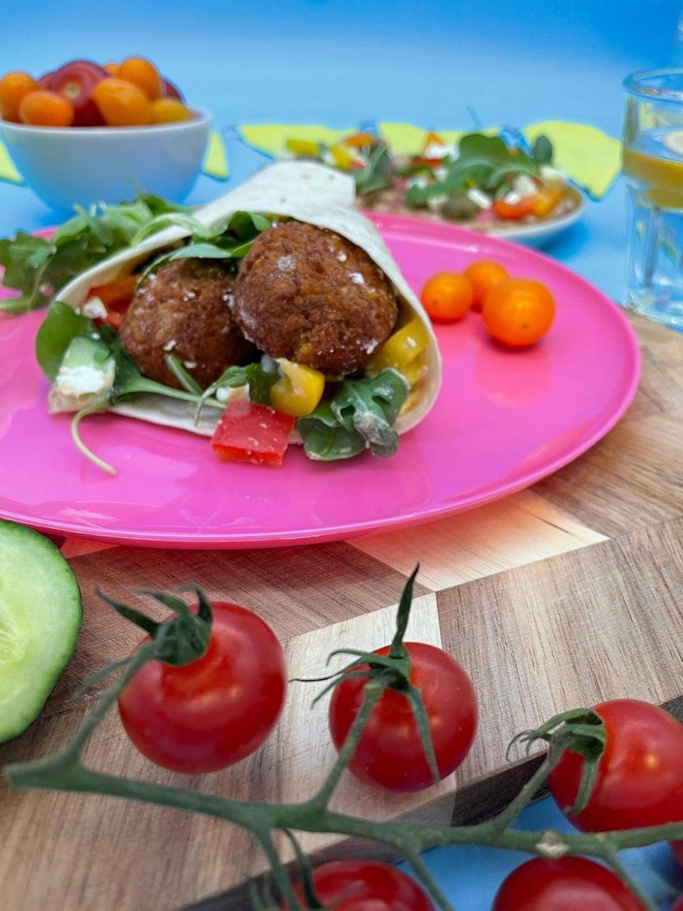 Falafel can be cooked from frozen for a quick and filling meal (Ramona's Kitchen)