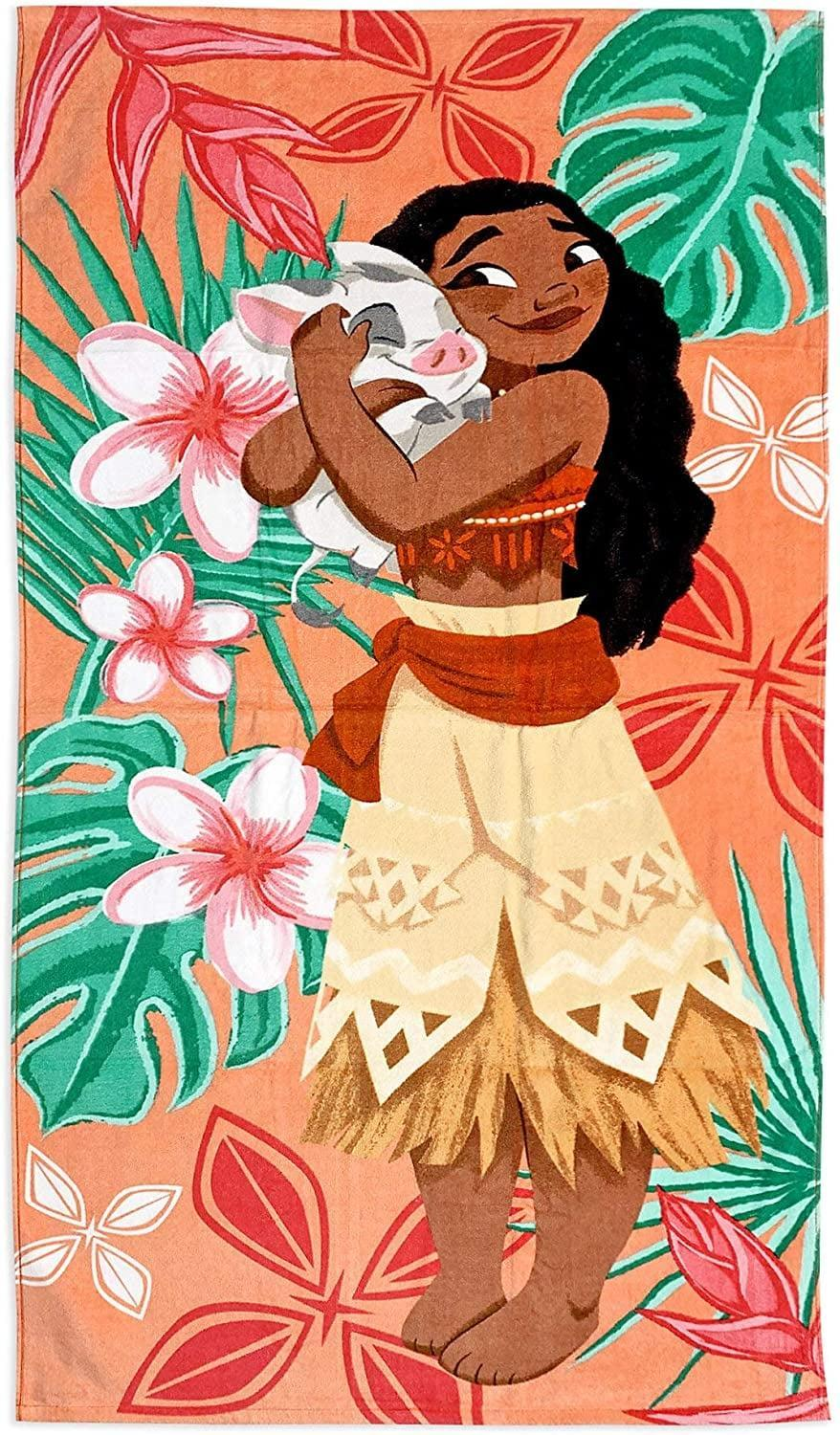 <p>If you love <strong>Moana</strong>, you'll love this bright <span>Disney Moana Beach Towel</span> ($17).</p>