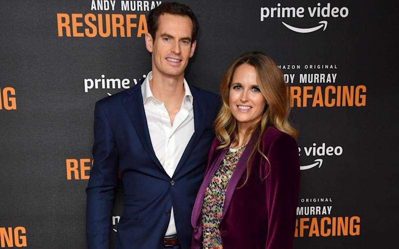 Andy Murray and Kim Sears attend the
