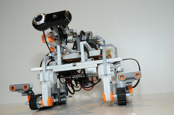 Astronauts on the International Space Station used an interplanetary Internet to control the Mocup test robot at the European Space Agency's Space Operations Center in Germany in October 2012. The test could one day help astronauts explore othe
