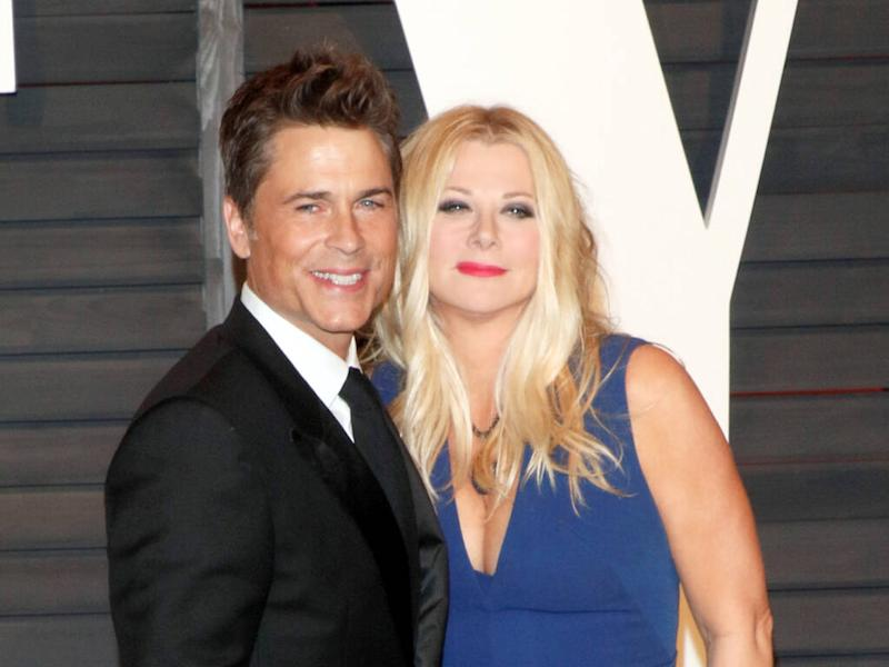 Rob Lowe 'not surprised' by Gwyneth Paltrow's revelation his wife gave her sex tips