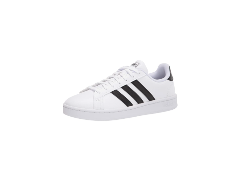 """<p><strong>Adidas</strong></p><p>amazon.com</p><p><strong>$59.95</strong></p><p><a href=""""https://www.amazon.com/dp/B07DBHRNXB?tag=syn-yahoo-20&ascsubtag=%5Bartid%7C10049.g.36804572%5Bsrc%7Cyahoo-us"""" rel=""""nofollow noopener"""" target=""""_blank"""" data-ylk=""""slk:Shop Now"""" class=""""link rapid-noclick-resp"""">Shop Now</a></p><p>With more than 23,000 reviews, these best-selling Adidas sneakers have become a cult classic over the years.</p>"""