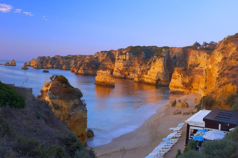 "<p>Dona Ana Beach in Algarve, Portugal // June 7, 2012</p><p><strong>RELATED: </strong><a href=""http://www.facebook.com/REDBOOK"" rel=""nofollow noopener"" target=""_blank"" data-ylk=""slk:Baby Names Inspired By Your Favorite Travel Destinations"" class=""link rapid-noclick-resp""><strong>Baby Names Inspired By Your Favorite Travel Destinations</strong></a></p>"