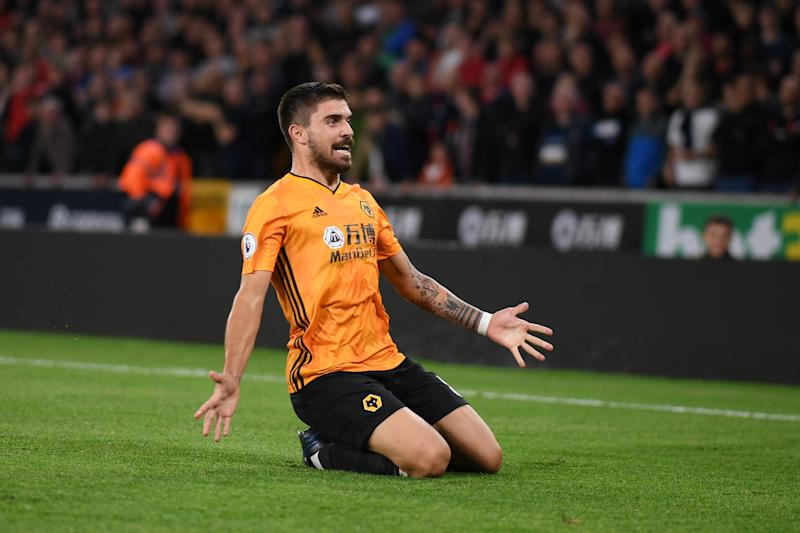 Ruben Neves drew Wolves level with a sublime strike. (Credit: Getty Images)