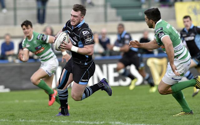 <span>Stuart Hogg will be a key weapon for Glasgow</span> <span>Credit: REX FEATURES </span>