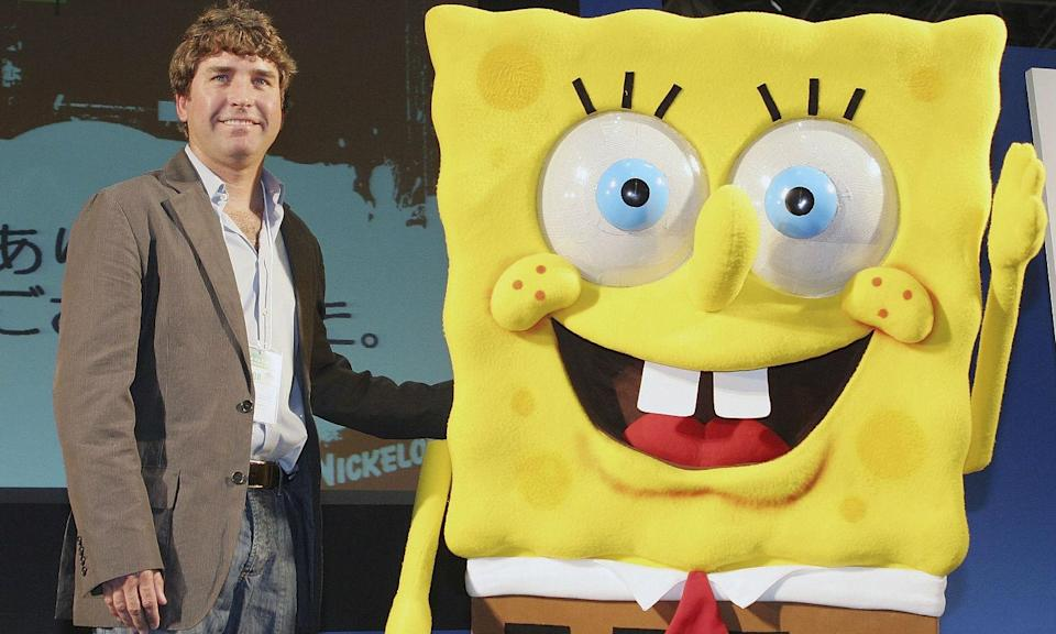 <p>The American cartoonist famously created SpongeBob SquarePants. He died on November 27 from motor neurone disease. </p>