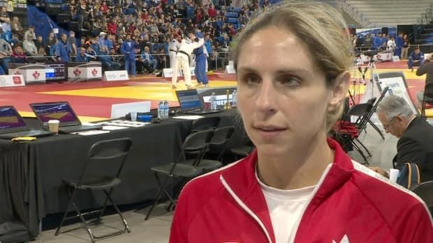 Canadian Para judo athlete Priscilla Gagné is ranked No. 2 in the world in the women's 52-kilogram category. (Anis Heydari/CBC - image credit)
