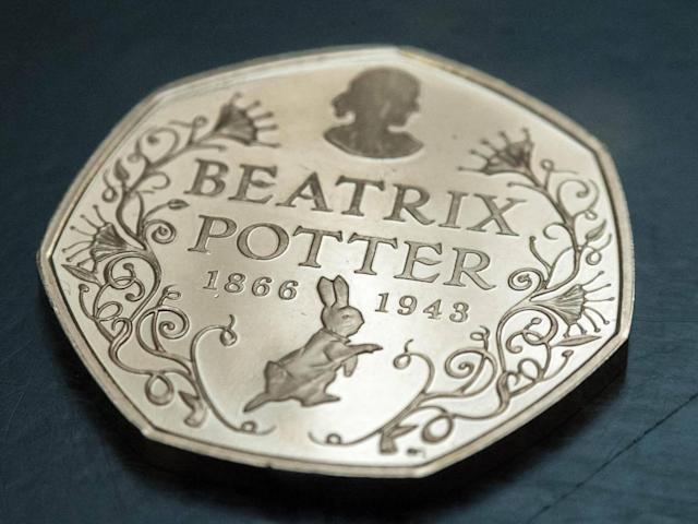 The Beatrix Potter 50p coins are some of the rarest to collect, and are worth £7 each