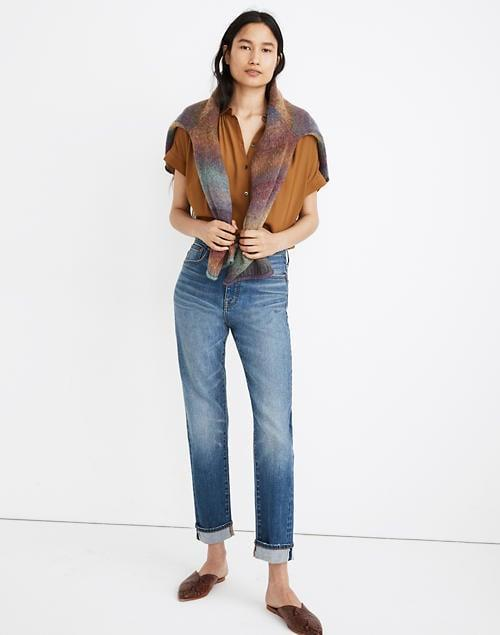 <p>The name says it all; these <span>Madewell Classic Straight Jeans</span> ($128) are always in style. We love the medium blue wash that's chic and classic.</p>