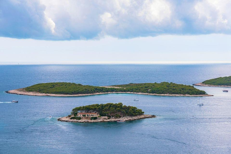 <p>Dotted along the Adriatic Sea, you'll find Croatia's Pakleni Islands. Here, gorgeous crystal clear waters and secluded beaches abound. You can go on cave tours, enjoy an afternoon of wine tasting, and then float in the stunning lagoons.</p>